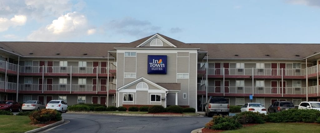 Exterior photo of INTOWN SUITES EXTENDED STAY MACON GA.