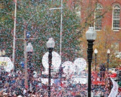 Thanksgiving Day Parade in America